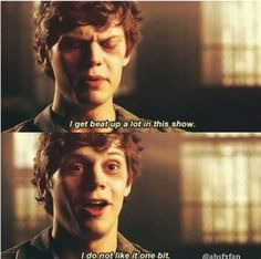 Evan Peters on Asylum