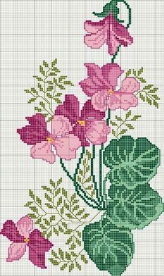 Free Embroidery Designs, Cute Embroidery Designs – my site Cross Stitch Borders, Cross Stitch Flowers, Cross Stitch Charts, Cross Stitch Designs, Cross Stitching, Cross Stitch Patterns, Cute Embroidery, Cross Stitch Embroidery, Embroidery Designs