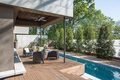 Terrific Lap Pool decorating ideas for Deck Contemporary design ideas with Terrific ceiling fan concrete