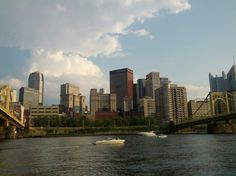 Pittsburgh from the river