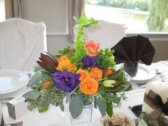 Centerpiece at Oceola Manor, in Northern Westchester, N.Y.