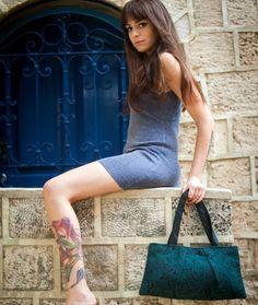 Peacock Shoulder Bag #vegan purse #vegan bag
