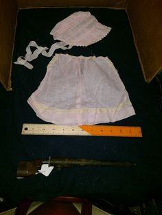 pale pink baby doll dress and bonnet Linen pale pink baby doll dress and bonnet Linen. Great shape.   https://nemb.ly/p/rk0k7ph2l Happily published via Nembol
