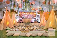 Bohemian Bonanza | Camping Party | Bohemian Party | http://babyandbreakfast.ph/2016/08/01/bohemian-bonanza/ | Photo: Tyron Cruz