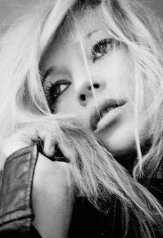 Kate Moss, shot by Mario Testino