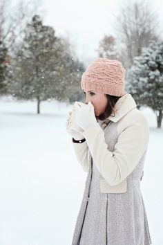 """Hot coffee and cold winter mornings are two of the best soul mates who ever did find each other."" ~Terri Guillemets"