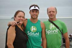 Puma e Tuca em mais um Ironman.: XIII Travessia Praia de Piçarras.