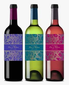 Cute for on the tables    personalized PEACOCK wedding wine bottle labels by shadow090109, $0.99