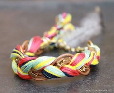 Navajo inspired Friendship Bracelet