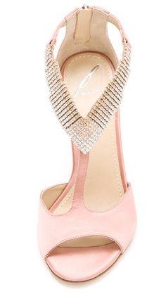 6f0d57fa56547b B Brian Atwood Loreto Crystal Sandals. Zapatos ShoesShoes SandalsShoe  BootsShoe BagPink ShoesBeautiful ShoesPretty ...