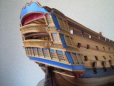 ロイヤル・ジョージ(Royal Georgr) 帆船模型 製作過程(2)