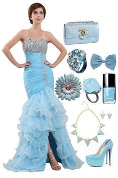 Ruffle Beading, Beautiful Fairies, Prom Dresses, Formal Dresses, Every Woman, Put On, Ruffles, Mermaid, Bride
