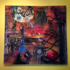 36 x 35 Abstract TP1 FREE SHIPPING by InspiredArtInventory, $299.00