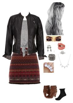 """fall"" by nickpick ❤ liked on Polyvore featuring Madden Girl, River Island, Charlotte Tilbury and City x City"