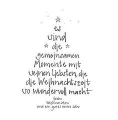 Weihnachtskarte - frohe Weihnachten und ein gutes neues Jahr - es sind die gemeinsamen Momente mit seinen Liebsten, die die Weihnachtszeit so wundervoll macht Christmas Gifts For Teenagers, Top 10 Christmas Gifts, Merry Christmas, Presents, Decals, Home Decor, Glee, Christmas, Ship It