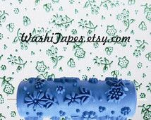 Patterned paint roller wall painting roller rubber stamp wall-cover embossing roller - W097Y