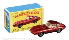Matchbox Regular Wheels No.32b Jaguar E Type.