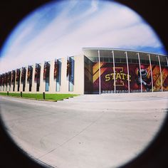 Cool shot of the Bergstrom Football Complex. Iowa State Cyclones, Fun Shots, Football Team, Favorite Things, College, Instagram, Style, Swag, University
