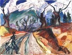 The Magic ForestEdvard Munch 1919 Munch-Museet - Oslo (Norway)Painting - oil on canvas
