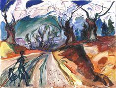 La foresta incantata di Edvard Munch 1919