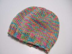 Basic Bulky Beanie Hat - Clothing Knitted My Patterns - - Mama's Stitchery Projects