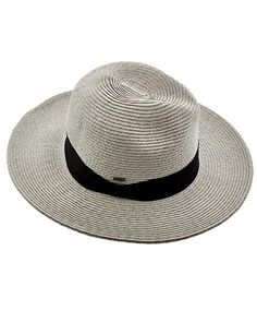 Grey / 80% Paper, 20% Polyester / Upf 50+ / Excellent Uv Protection / Blocks 88% Uva,uvb / One Size / Hat