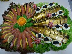 Идеи оформления праздничных блюд  3
