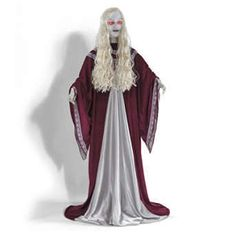 Life-size Sinister Serena In/Outdoor Halloween Figure Prop Decor (: