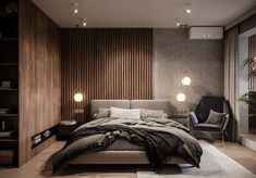 swiss render What do you think of this bedroom? do you like it yes or no👇 Double tap if you Modern Luxury Bedroom, Luxury Bedroom Design, Master Bedroom Interior, Bedroom Closet Design, Modern Master Bedroom, Contemporary Bedroom, Luxurious Bedrooms, Home Bedroom, Bathroom Interior Design