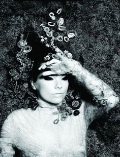 Bjork, my favorite Icelandic lady. Quirky, cute, and true to herself.