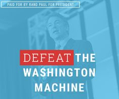 Rand Paul online ad.