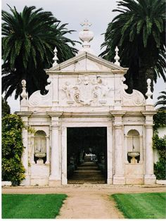 Entrance to the Quinta Dona Maria, Estremoz, Portugal