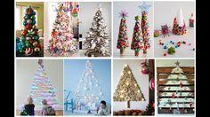 30 ideas para arbolitos de Navidad - decora, adorna y disfruta estas fie...