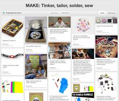 Running out of #MakerClub  #MakerSpace ideas? Check this Pinners page for some great #Maker #Projects
