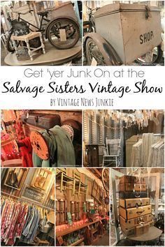 Ideas for Junk Vintage Show--love this old 3 wheeler with a luggage trunk!