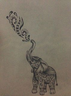 Marvelous Drawing Animals In The Zoo Ideas. Inconceivable Drawing Animals In The Zoo Ideas. Elephant Tattoo Design, Elephant Tattoos, Animal Tattoos, Elephant Design, Trendy Tattoos, Cool Tattoos, Maori Tattoos, Fake Tattoos, Tattos
