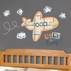 Up, Up & Away Airplane...possibility for baby room