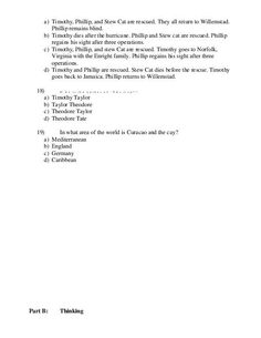 The Cay Essay Topics & Writing Assignments