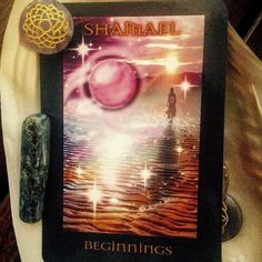 Archangel Shamael is the ultimate DIVINE GUIDE who watches over us . This card means extraordinary  new opportunities are dawning for you  drawing you to new people  new places and new projects . Shamael wishes to lovingly assist you and  as anxiety often precedes change   Think about what needs to be released at this point . Is it old projects  old patterns of behaviour  old ideas or old acquaintances.you might need to ask yourself some of the questions below in order to arrive just where…
