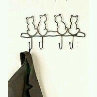 #Arte ☆ Cabide * Gatos *