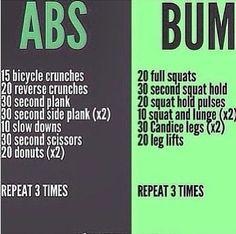 Brazilian Booty workout!