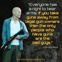 Bruce Willis Just Risked His Career, Took a HUGE Stand for the Second Amendment
