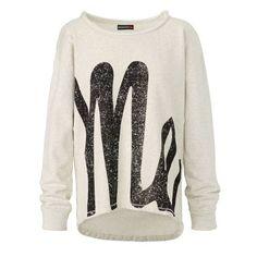 Sweatshirt, Print, Me Vorderansicht