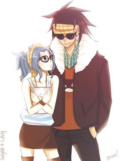 Levy and Gajeel