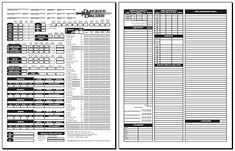 2nd Edition Character Sheet PDF | Blackmoor's D&D 3.0 Character Sheet (standard 1.04)