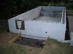 1000 images about block house ideas on pinterest cinder - Cinder block swimming pool construction ...