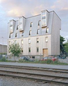 Svartlamoen housing, Trondheim, by Brendeland & Kristoffersen.