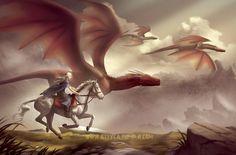 Daenerys Targaryen by Attyca.deviantart.com on @DeviantArt