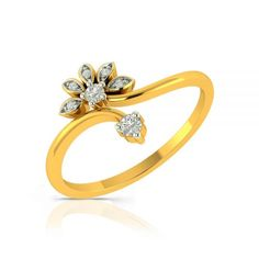 Diamond Engagement Rings for Women: Buy Latest Engagement Rings Designs for every budget & need make shopping exciting. Make engagements more special with real diamond engagement rings by Charu Jewels. Expensive Diamond Rings, Gold Diamond Rings, Diamond Wedding Rings, Solitaire Rings, Gold Ring Designs, Gold Bangles Design, Best Engagement Rings, Designer Engagement Rings, Gents Gold Ring