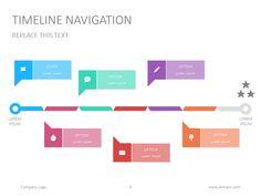 Timeline Google Slide Presentation Presentationdesign
